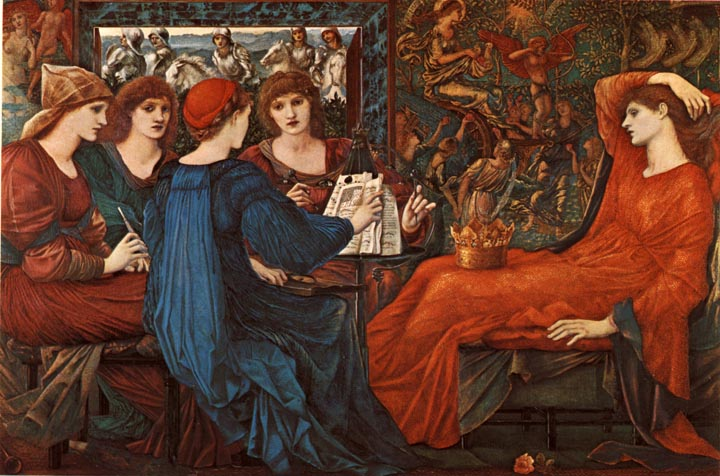 Laus Veneris (In Praise of Venus) by Sir Edward Coley Burne-Jones